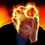man undergoing stress and needing help